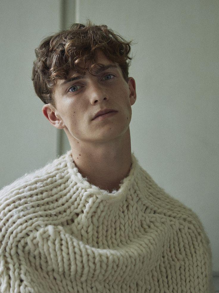 "justdropithere: ""Luc Defont-Saviard by Thomas Goldblum - Vogue Hommes #24, FW16 """
