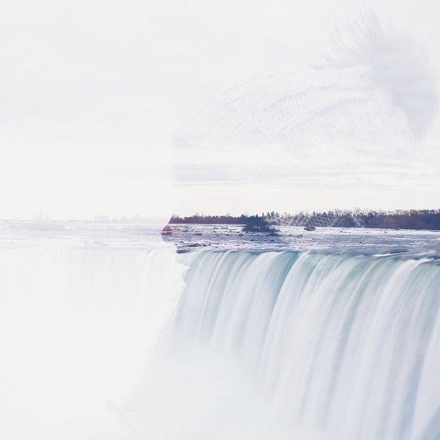 """In my heart & on my mind #canada  #niagrafalls #multipleexposure"" Photo taken by @lizehelsen on Instagram, pinned via the InstaPin iOS App! http://www.instapinapp.com (01/04/2015)"