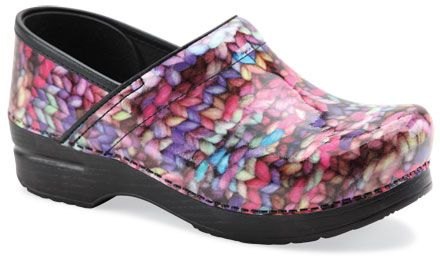 Dansko Professional Clogs - Knit Weave Pattern    These are awesome.Shoes, Clogs, Knits Pattern, Profession Patent, Knits Patent, The Profession, Dansko Professional, Funky Knits, Knits Stitches