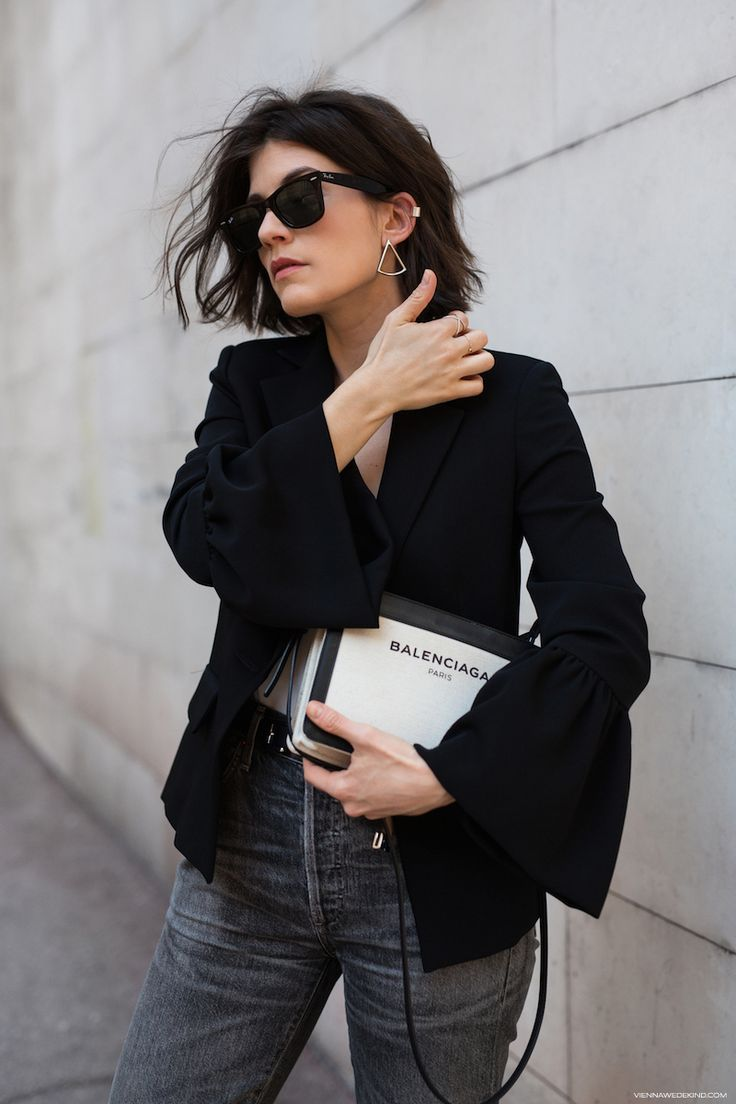 You think a Blazer is just a great work week essential? Well, think again. This season it's actually time to consider a bell-sleeve blazer as perfect