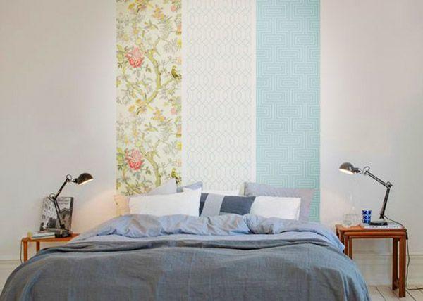 les 25 meilleures id es de la cat gorie papier peint pour t te de lit sur pinterest d cor de. Black Bedroom Furniture Sets. Home Design Ideas