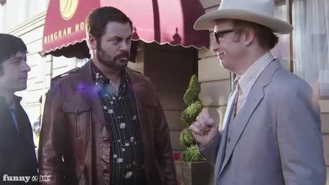 Drunk History: The Gold Dust Twins w/ Nick Offerman and Bob Odenkirk (VIDEO)