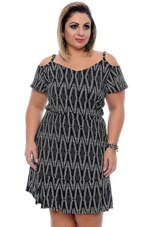 Vestido Plus Size Graciete