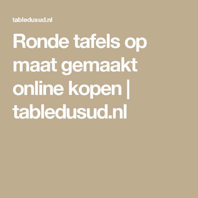 Ronde tafels op maat gemaakt online kopen   tabledusud.nl