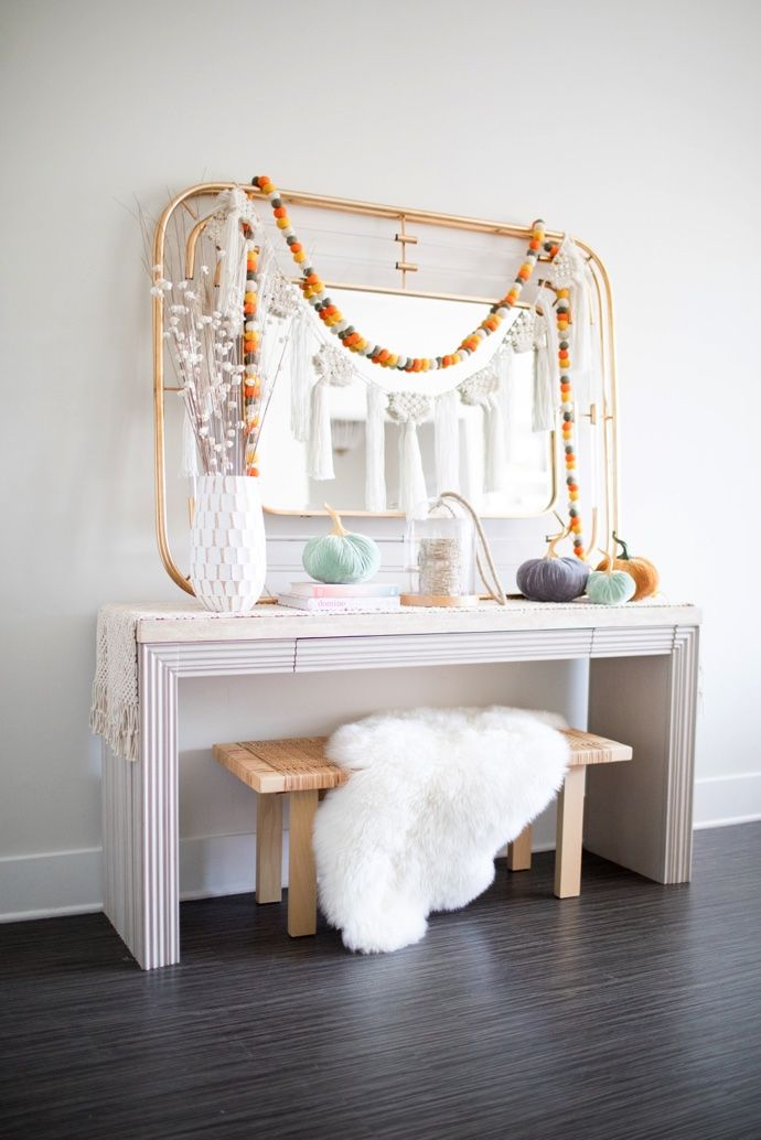 We're sharing how you can update and style your entryway three different ways this fall.