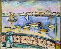 Braque, Georges - Port d'Anvers - Musée des Beaux-Arts du Canada, Ottawa