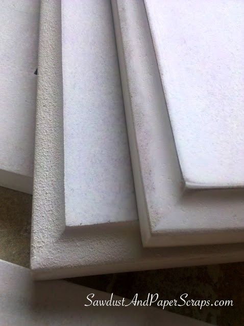 Smooth Painted MDF Edge