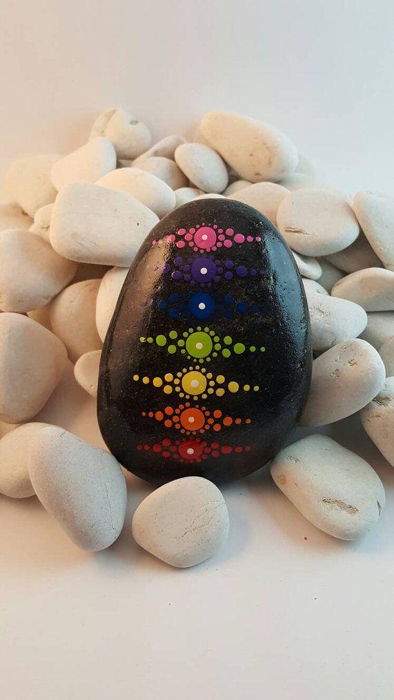 Mandala stone por PierreduCoeur en Etsy