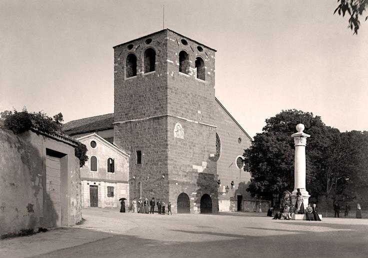 Trieste, Cattedrale di San Giusto, primi del Novecento