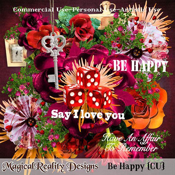 Be Happy {PU-CU-AU} by MagicalReality Designs