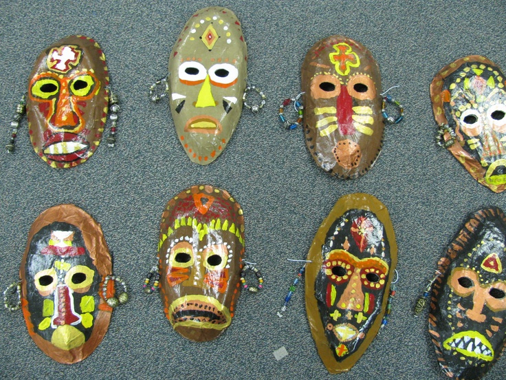 17 images about masks on pinterest mardi gras the mask for African arts and crafts history