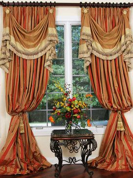 Luxury Panels Traditional Curtains Chicago Custom
