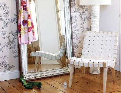 How to Make a Mirror Frame  Reuse old decorative trim from a room renovation to build a classic mirror.