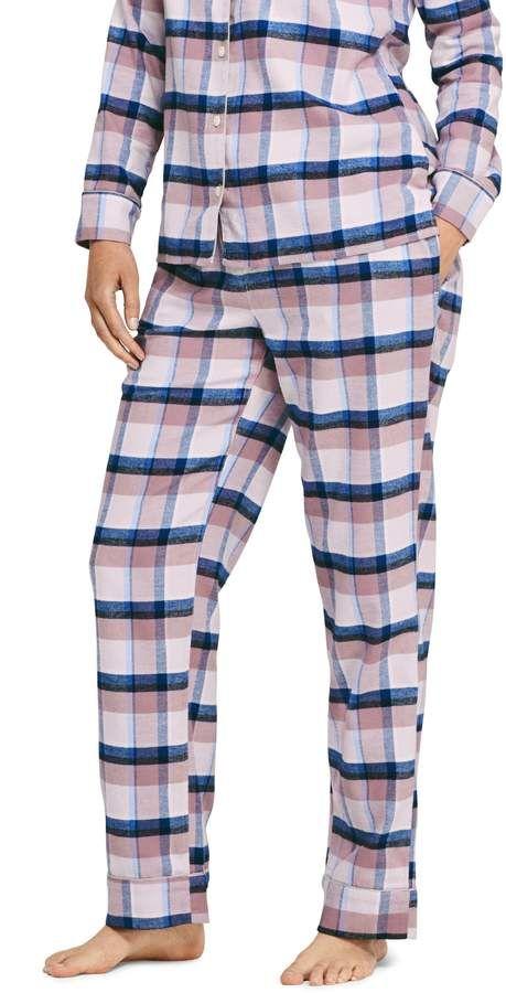 3d3adbe3df Lands  End Lands end Women s Plus Size Print Flannel Pajama Pants  Size