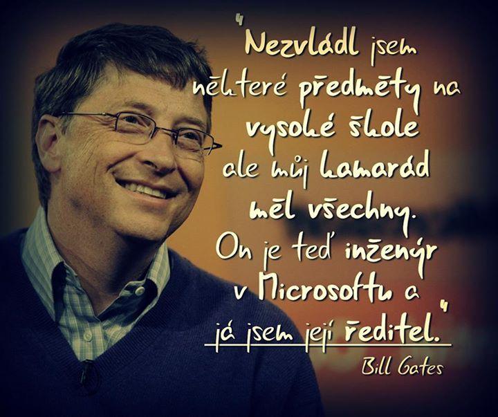 Bill Gates motivace česky http://on.fb.me/14rlJrj