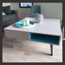 Table basse tendance vintage made in France!