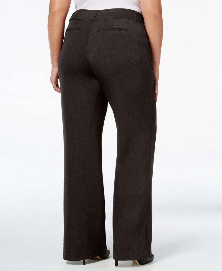 Alfani Plus Size Pants, Curvy-Fit Slimming Bootcut - Plus Size Sale & Clearance - Plus Sizes - Macy's