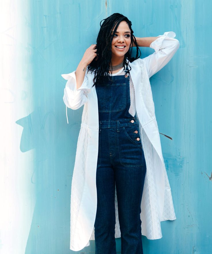 Tessa+Thompson+Thrift+Store+Style+Tips+|+We+go+vintage+shopping+with+Tessa+Thompson,+the+lead+actress+in+the+new+movie+Creed,+at+L.A.'s+Shareen+Vintage.+#refinery29+http://www.refinery29.com/tessa-thompson-creed