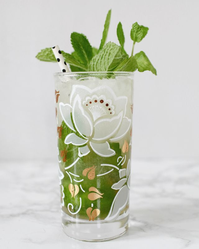 Classic Mojito Cocktail Recipe by Liquorary for Oh So Beautiful Paper