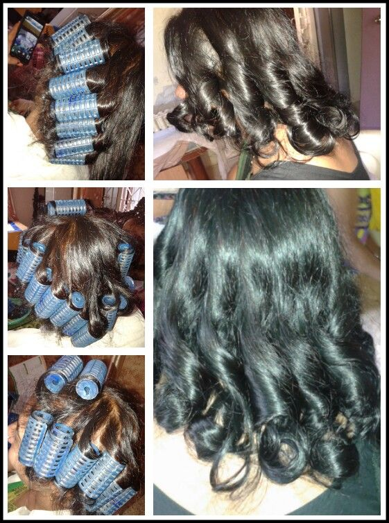 Spiral Roller Setting Hairstyles Hair Styles Long