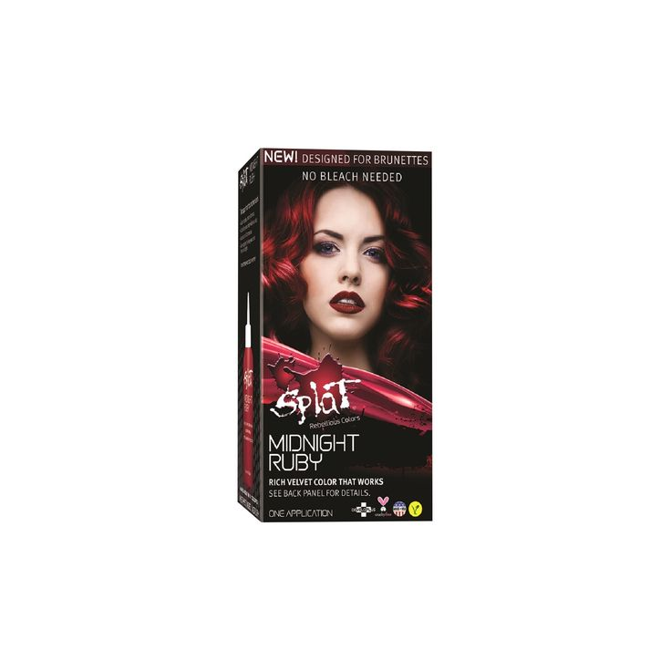 Splat Midnight Hair Color Ruby (Red) 6.0 oz
