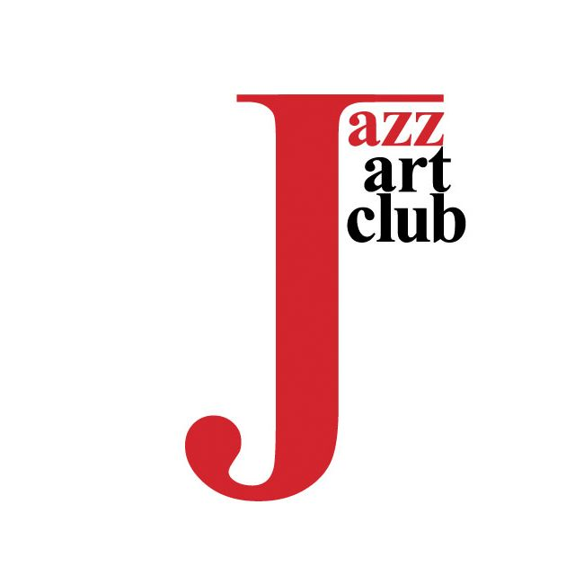 Typographic logo for music jazz club.