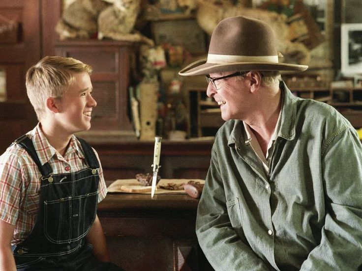 Secondhand Lions - kid gets some real parenting for a change