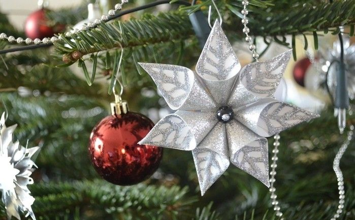 How to make pretty Christmas Paper Star for your home and Christmas tree (12 Pics)