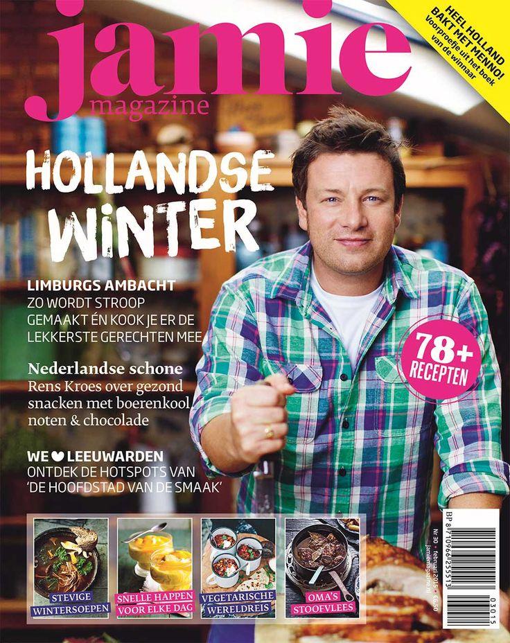 Jamie magazine #30  Het Hollandse winternummer is uit met daarin: recepten van 'Heel Holland Bakt'-winnaar Menno de Koning, een reportage bij een Limburgse stroopstoker plus recepten met stroop, een cityguide van Leeuwarden, een voorpublicatie van The Green Kitchen Travels (vervolg op het succesvolle The Green Kitchen), een column van Rens Kroes en nog veel meer!