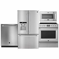 Kenmore Pro 4-piece Stainless Steel Kitchen Suite