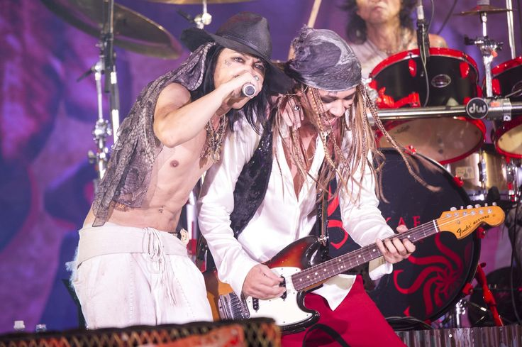 #VAMPS #HYDE #BeastParty2016 / Barks Live Report [Aug 14, 2016]