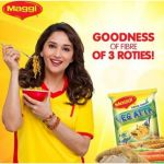 For supporting Nestle Maggi Noodles, Bollywood Actress Madhuri Dixit has received a notice for talking about nutritional values of Maggi Noodles.