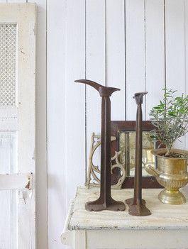 Antikes Schusterwerkzeug - Schusterbock - Rusty Shabby pur