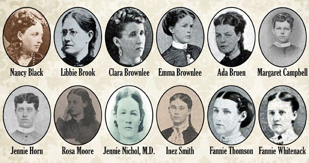 Did you know that Pi Beta Phi has 12 Founders!? Read here for some history of Pi Beta Phi - Young Founders