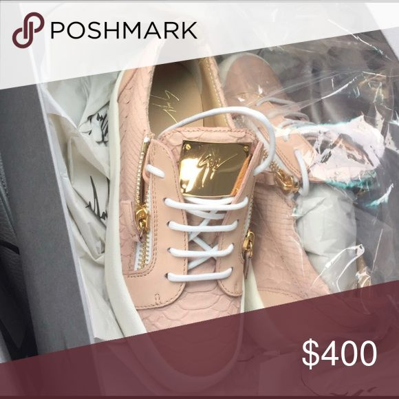 Giuseppe Sneakers SALE DID NOT GO THREW! Still available! Giuseppe Zanotti Shoes Athletic Shoes