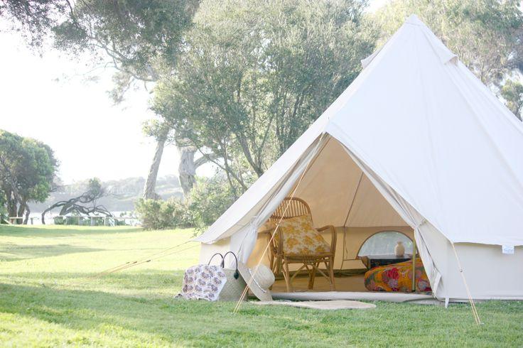 Cosy beach nest! www.HappyGlamper.com.au
