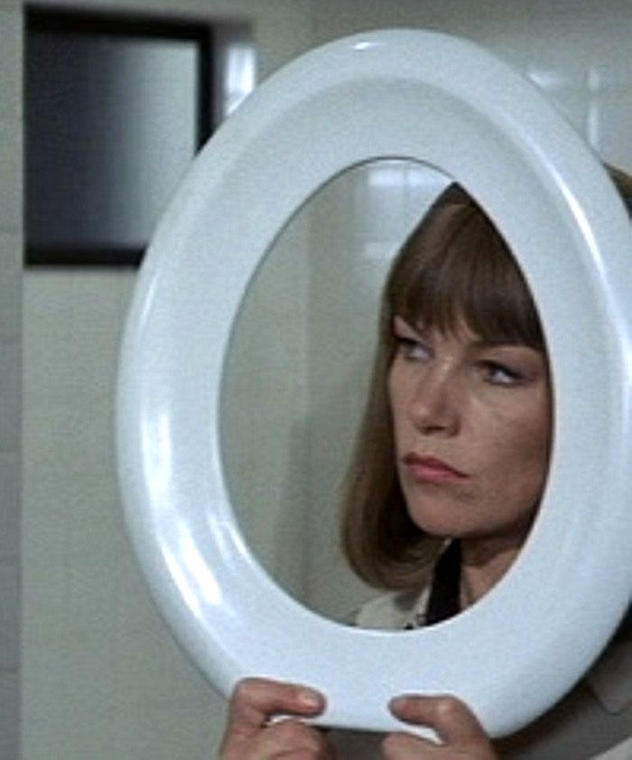"Glenda Jackson en ""Un Toque de Distinción"" (A Touch of Class), 1973"