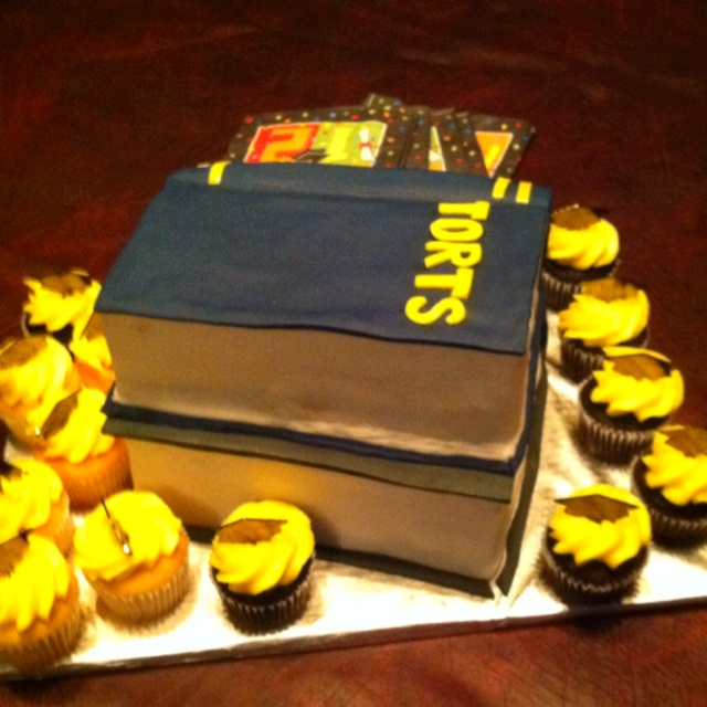 Law School Graduation Cake Designs