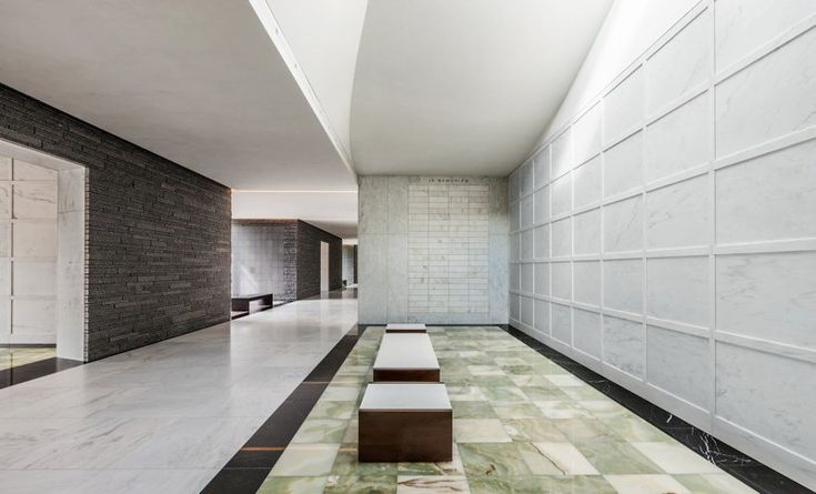Lakewood Cemetery's Garden Mausoleum by HGA Architects