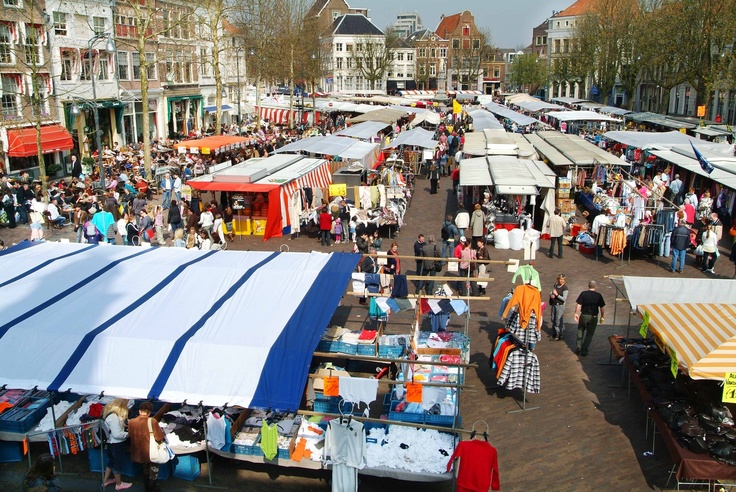 The markets in the Brink - Deventer (Holland)... Awesome!