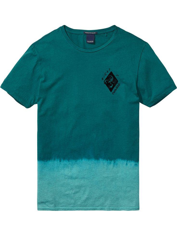 Dip-Dye T-Shirt   T-shirts ss   Men Clothing at Scotch & Soda