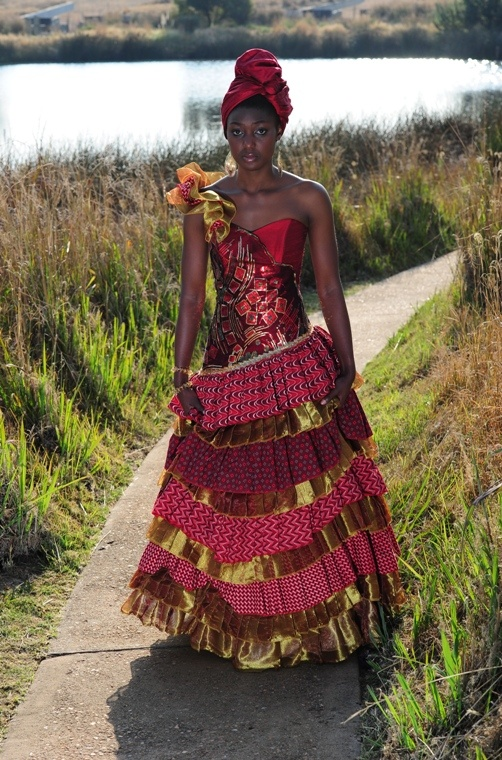 South AfricanTraditional Wedding Dress