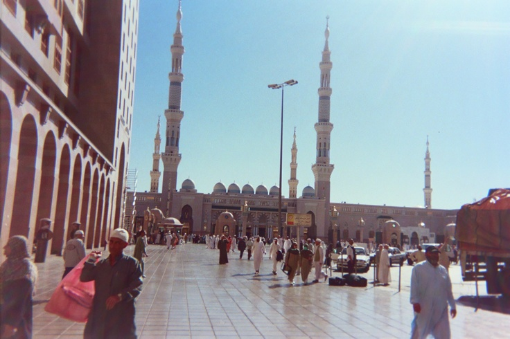 The Prophets Mosque in Medina