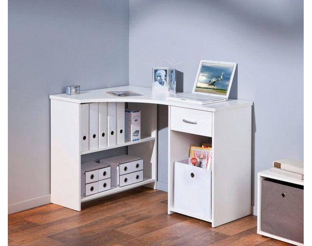 Eckschreibtisch Grossi Weiss Online Bei Poco Kaufen In 2021 Eckschreibtisch Schreibtischideen Kleine Heimburos