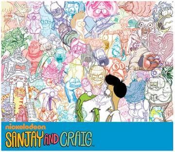 "PR: Nickelodeon & California State University, Fullerton, Present ""Sanjay and Craig"" Art Exhibition - Toon Zone News"