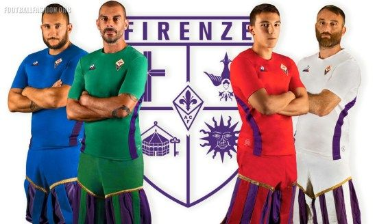 1f6757cda ACF Fiorentina 2018 2019 le coq sportif Football Kit