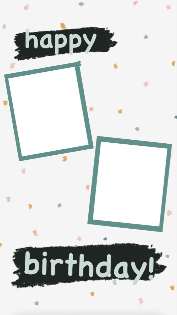 Happy Birthday Instagram Story Template Kartu Ulang Tahun Kartu Ulang Tahun Buatan Tangan Desain Pamflet