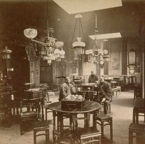 https://flic.kr/p/6h4ETM | Chinese restaurant SF CA 1880's
