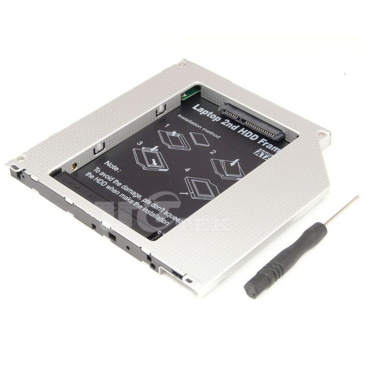 2nd HDD SSD Caddy Adapter 9.5mm PATA IDE to SATA For Macbook Pro Non-Unibody Mid 2007 Late 2006 2007 A1181 A1260 A1261#ide