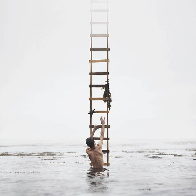 reach the ladder,,, | conceptual-photography-oldham-